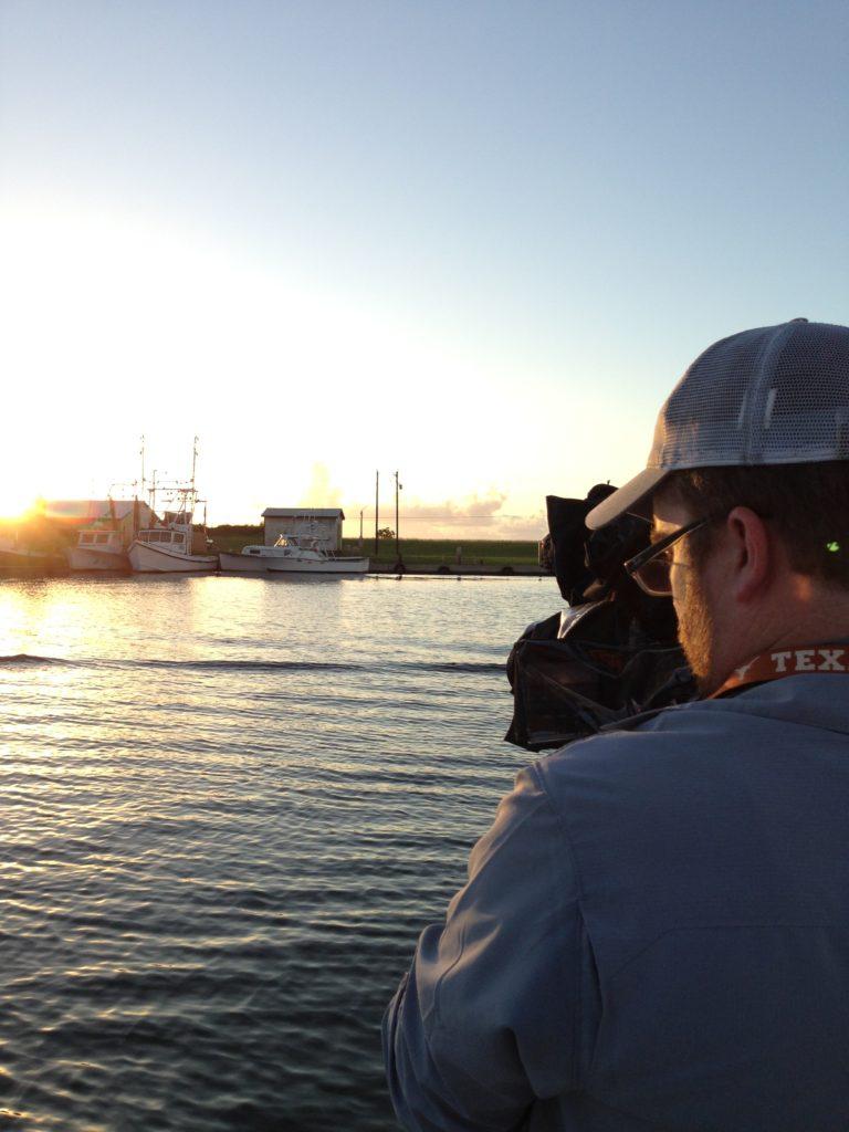 photographs: BTS shoot day Texas Coast