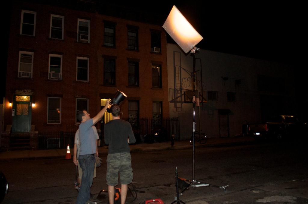 photographs: BTS Powder Strike short film, filmmaking, director