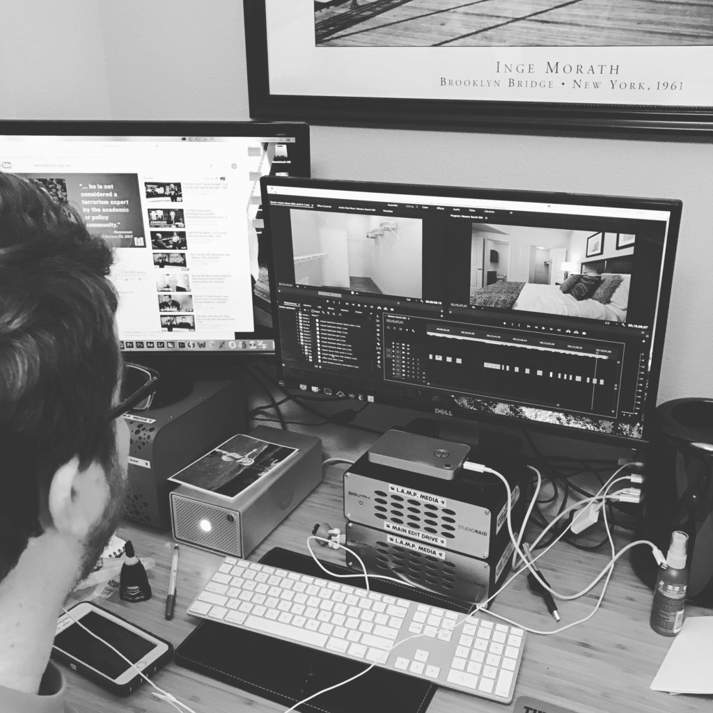 photographs: BTS editing