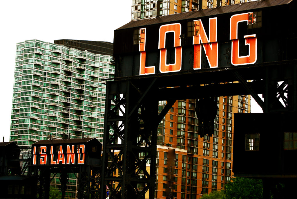 Architectural photograph of a Long Island landmark area
