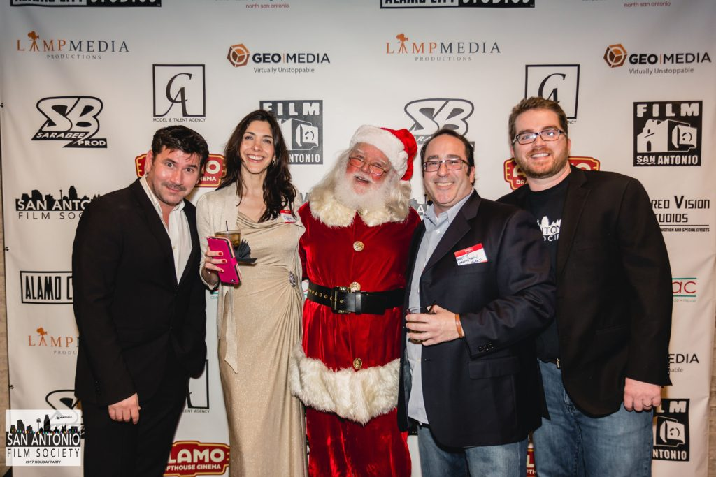 photographs: BTS holiday party