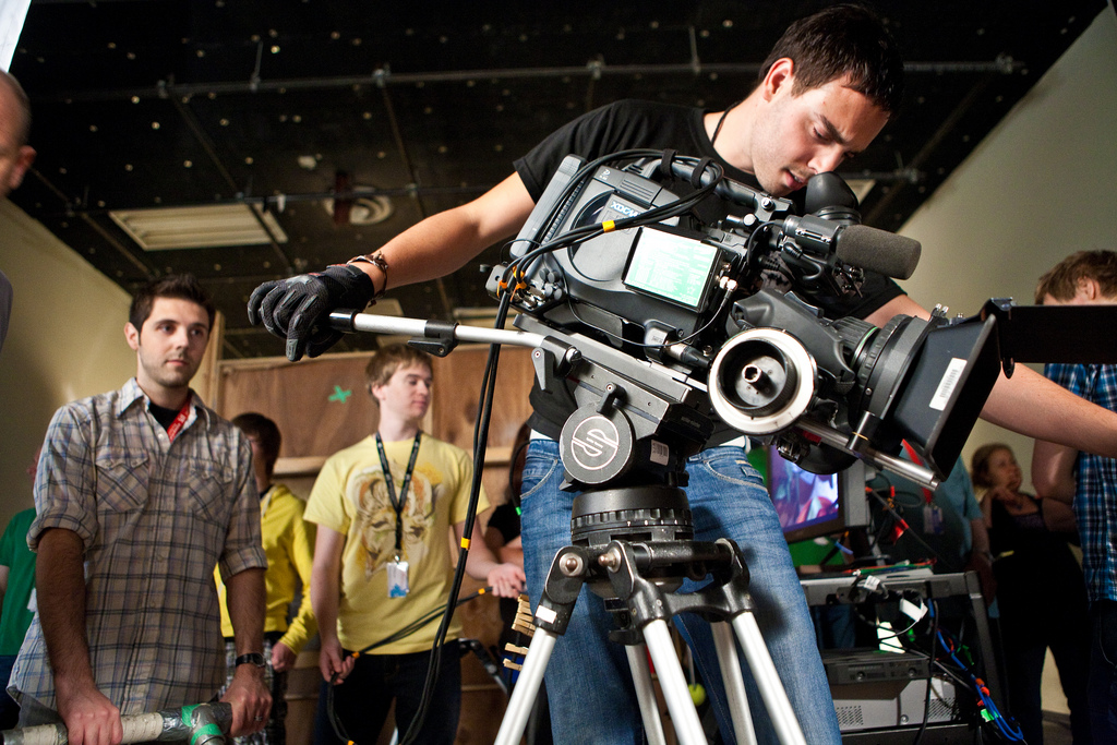 Filming on location with Canon C-100 & other cameras