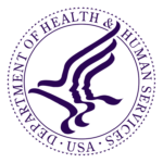 The Department of Health and Human Services logo